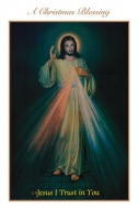 Divine Mercy Christmas Card