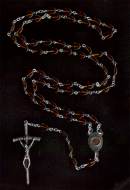 Sand from Holy Land Rosary Beads