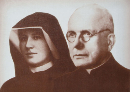 St. Faustina and Blessed Fr. Sopocko Image