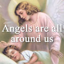 Angels are always around us