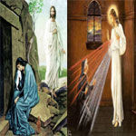 Mary Magdalene and Saint Faustina