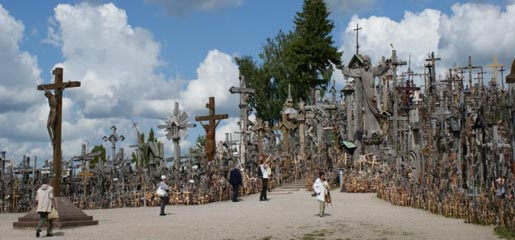 Hill of Crosses & Divine Mercy Shrine Prayer Petition