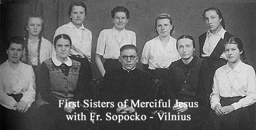 First Sisters of Merciful Jesus