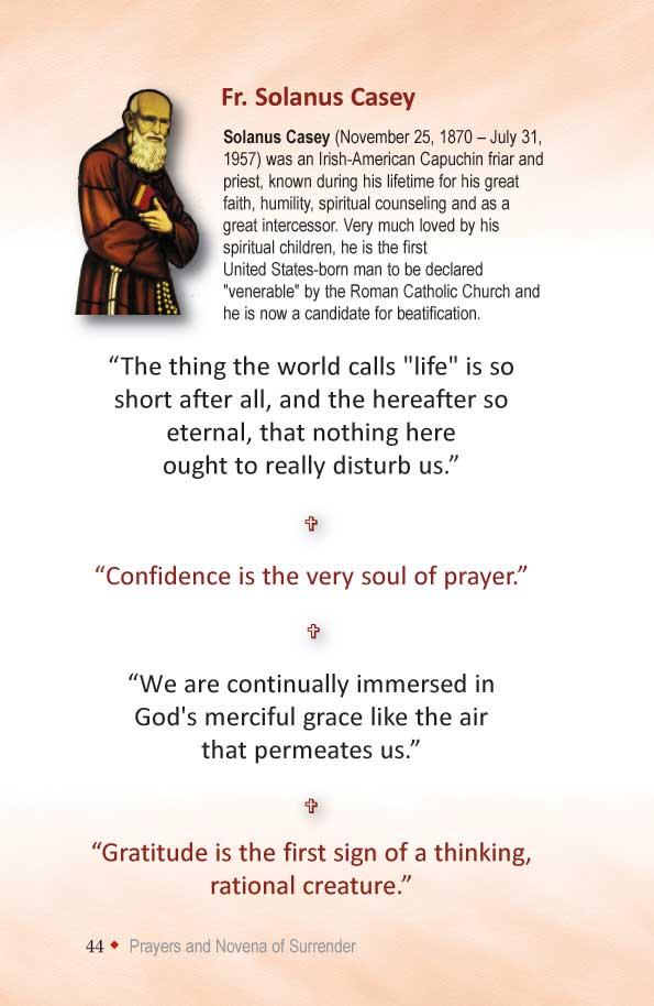photograph about Surrender Novena Printable named Divine Mercy Guides: Surrender Novena (+ Prayer of Have confidence in