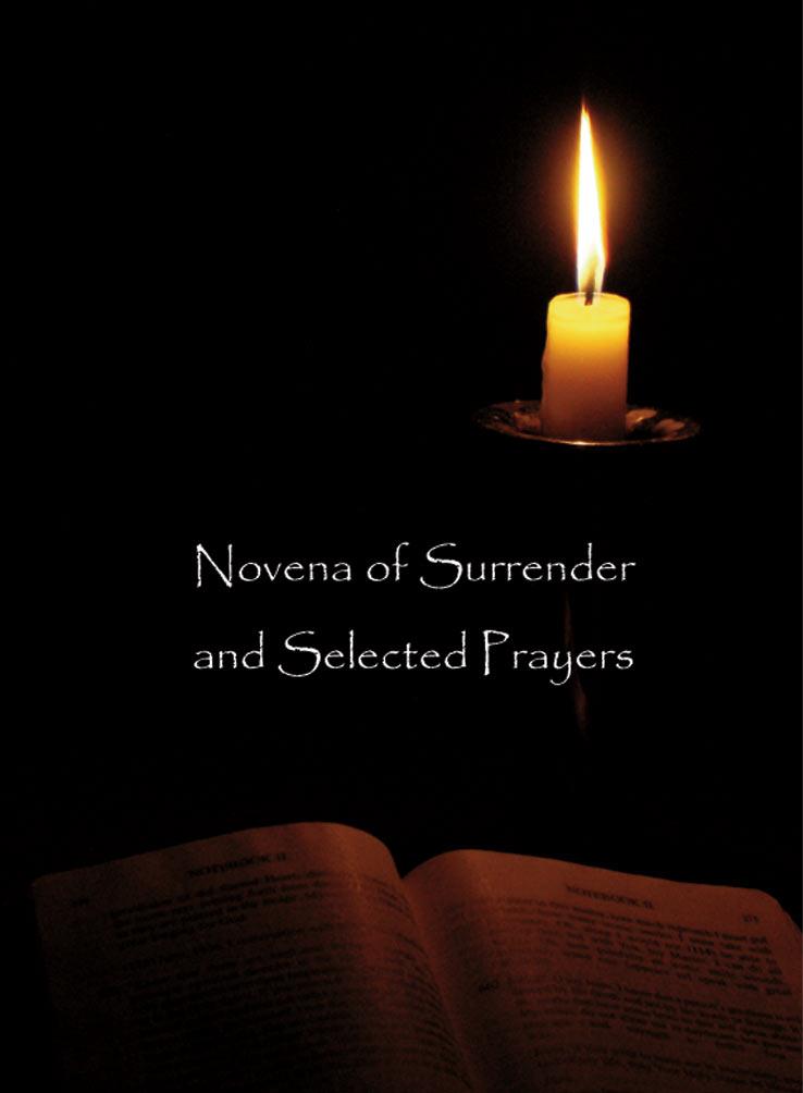 Divine Mercy Books Surrender Novena Prayer Of Trust