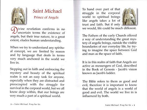 Saints Books: St  Michael the Archangel