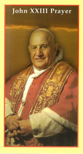 pope john xx111 Throughout his life, especially during his years as pope, john xxiii was known  for his genuine joy and a magnificent sense of humor.