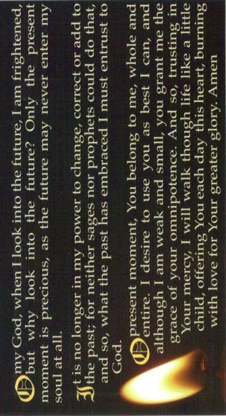 Rare image in surrender novena printable