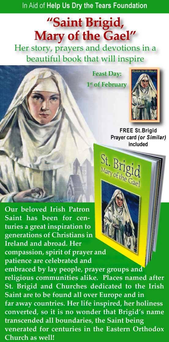 Brigid prayer saint Praying to
