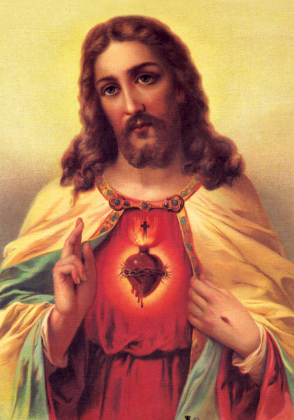 divine mercy images traditional sacred heart picture 10 x8