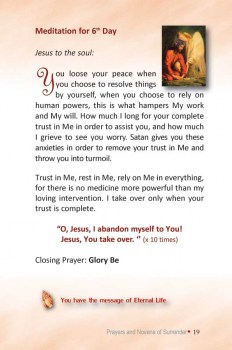 graphic relating to Surrender Novena Printable called Divine Mercy Guides: Surrender Novena (+ Prayer of Rely on