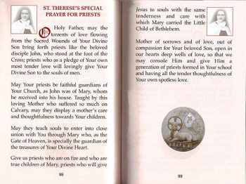 Devotion to St. Theresa