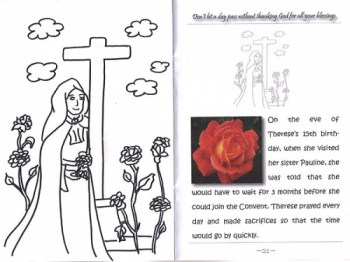 St. Theresa Colouring Book