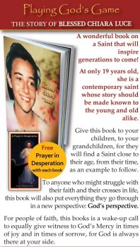 Miracles Books Blessed Chiara Luce Playing God S Game Free Prayer Card Prayer In Desperation Or Similar Aliexpress carries wide variety of products. miracles books blessed chiara luce