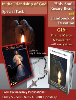 Holy Souls Special Pack and Free Divine Mercy Icon