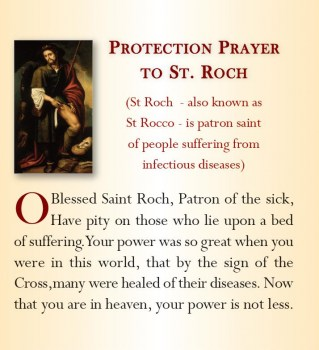 St Roch, Pray for Us!