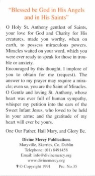 St. Anthony Unfailing Prayer