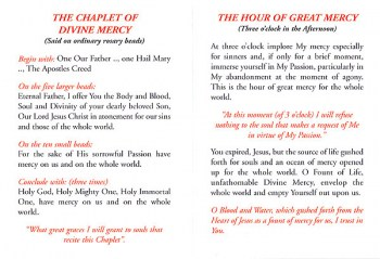 Miracle Prayers of Divine Mercy